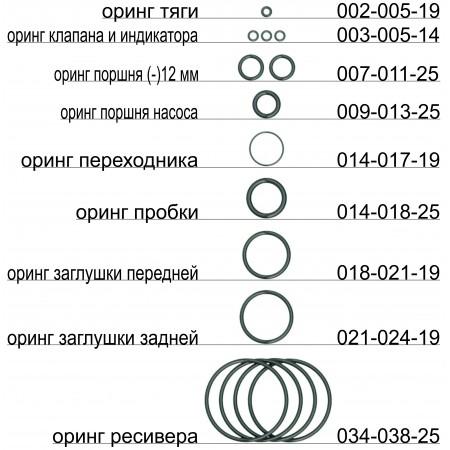 20431 Набор орингов (-)12